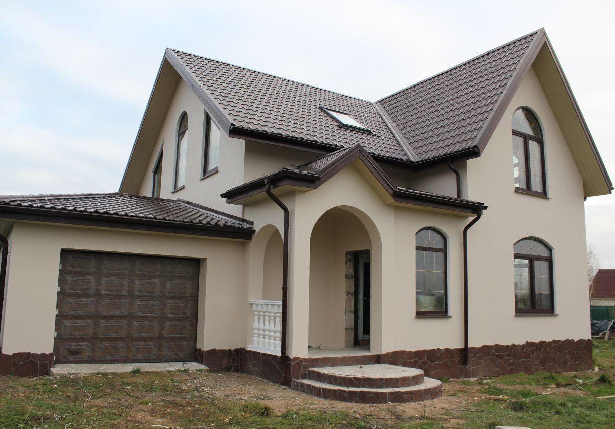 Большой дом из газобетона
