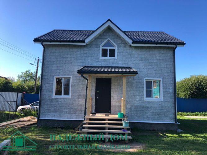 Каркасный дом п.Ваганово