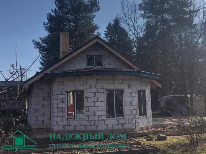 Дом из газобетона 8,5х14м п.Карташевская