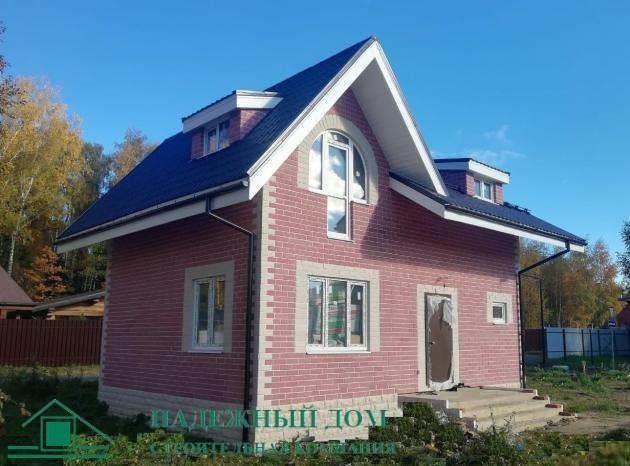 Строительство кирпичного дома в Выборге