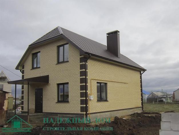 Строительство дома с мансардой из газоблока в Выборге