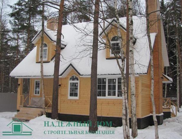Строительство каркасного дома в городе Тосно