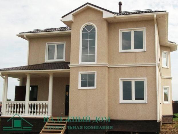 Строительство каркасного дома по индивидуальному проекту в городе Тосно