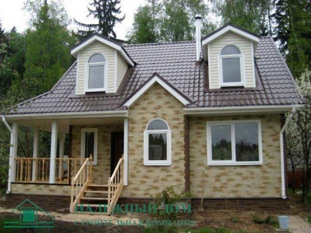Строительство каркасного дома в городе Сосновый Бор
