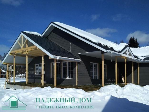 Строительство каркасного дома по индивидуальному проекту в городе Высоцк