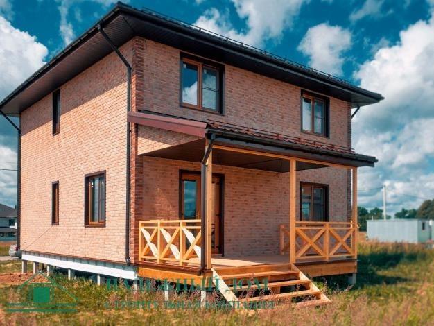 Строительство каркасного дома по индивидуальному проекту в городе Сосновый Бор