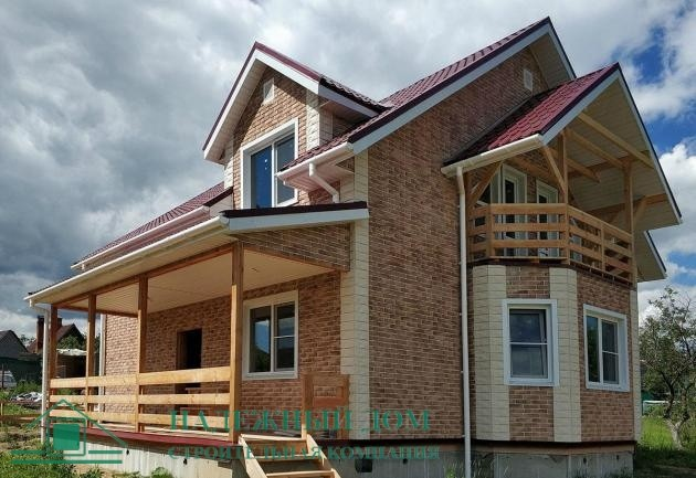 Строительство каркасного дома с изменениями в городе Гатчина