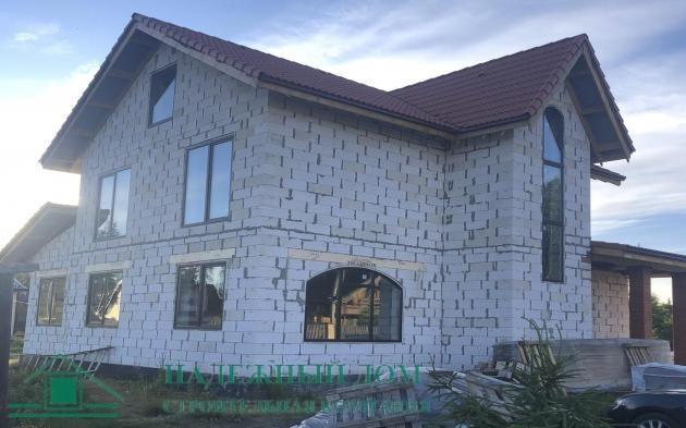 Строительство дома из газобетона СНТ Гранит