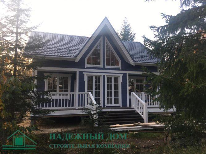 Каркасный дом СНТ Стеклянный ручей