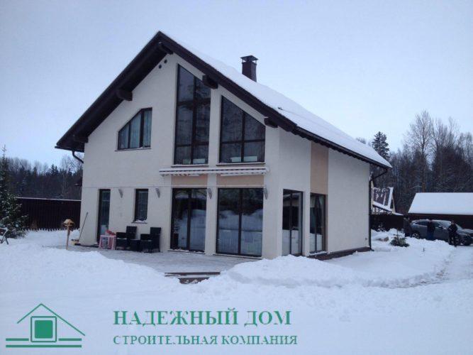 Строительство дома из газобетона по индивидуальному проекту г.Всеволожск
