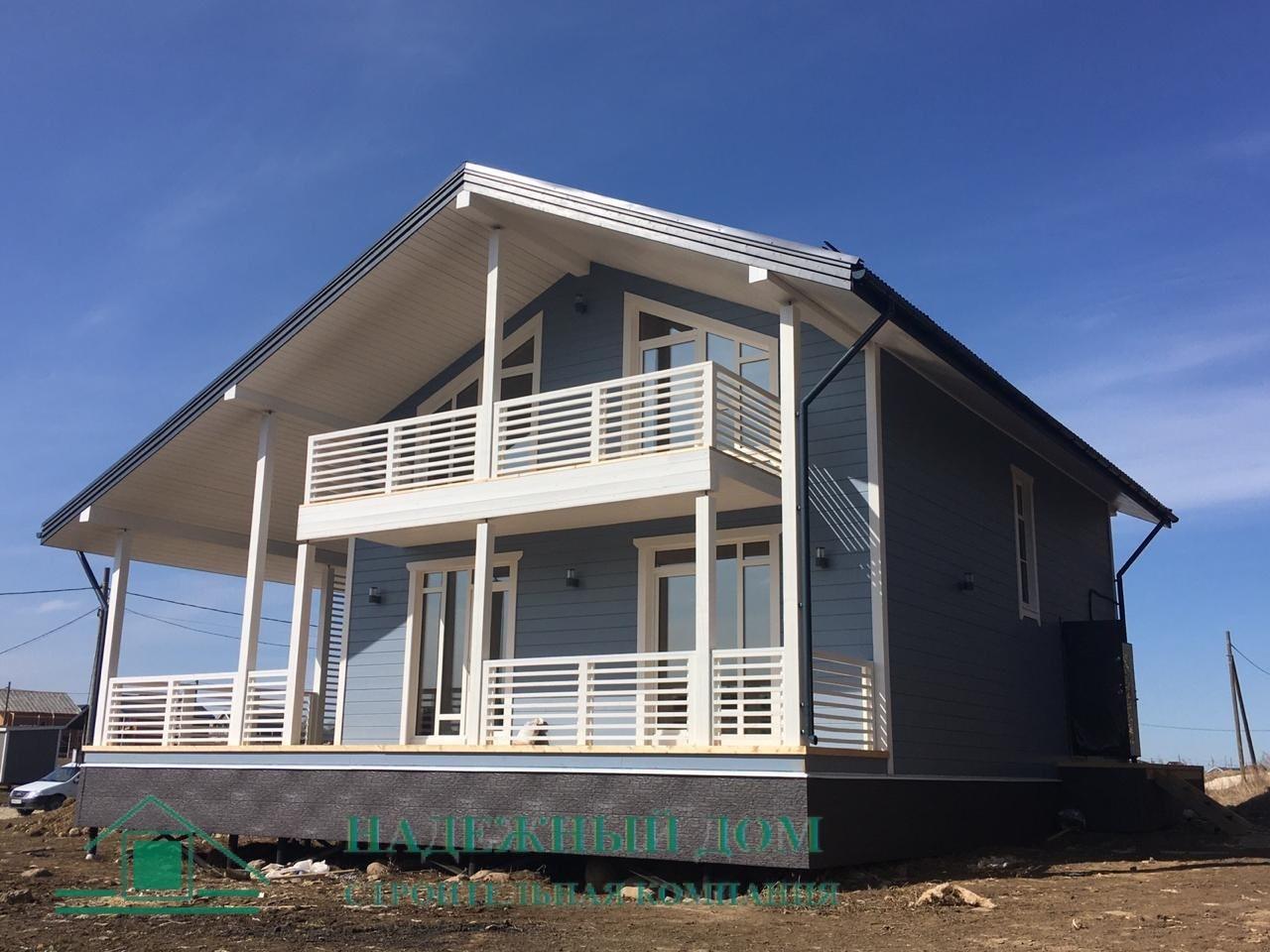 Строительство дома по проекту Осло
